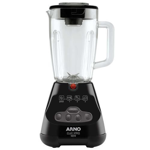 Liquidificador Arno ClicPro Balck LN48 500W - Preto