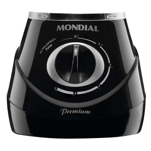 Liquidificador Mondial Premium L-53 Preto c/ Filtro - 400 W