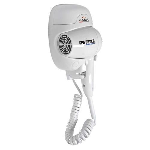 Secador de Cabelos de Parede GA.MA Italy Spa Dryer com Desligamento Automático 1500W – Branco