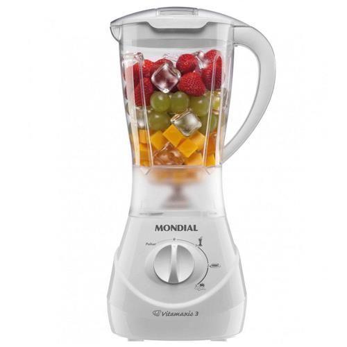 Liquidificador Mondial Vitamix 3 L-30 Branco - 400 W
