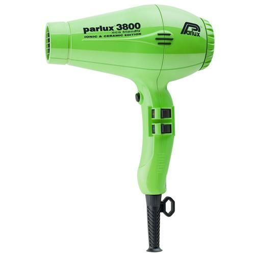 Secador de Cabelos Parlux 3800 Ceramic & Ionic Motor Profissional K-Lamination e 4 Temperaturas 2100W – Verde