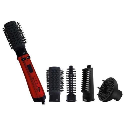 Escova Rotativa Philco Spin Íon Brush 55401002 - Preta/Vermelha