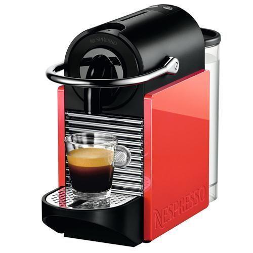 Cafeteira Nespresso Pixie C60 - Vermelha