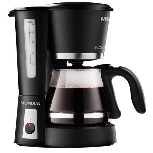Cafeteira Elétrica Mondial Bella Aroma II C 09 - Preta