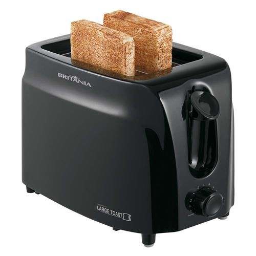 Torradeira Britânia Large Toast - Preta