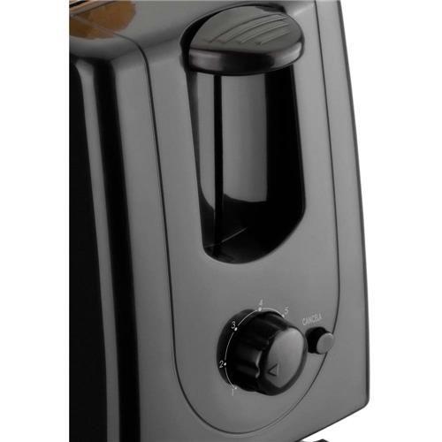 Torradeira Elétrica Dilleta Cadence com 7 níveis de temperatura  TOR104 - Preta