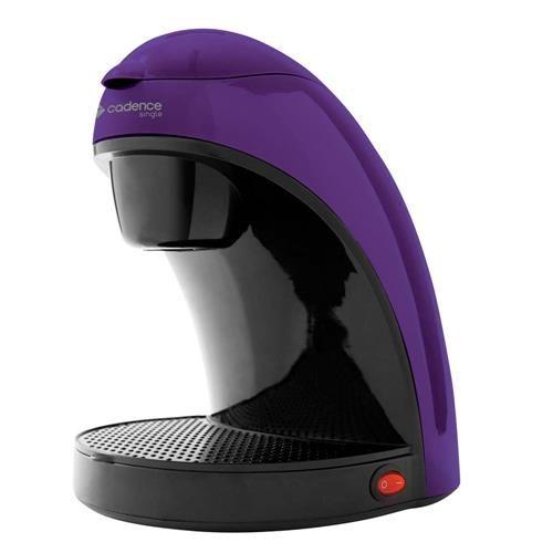 Cafeteira Single Colors Cadence CAF112 Prepara 2 Cafés, com Filtro Permanente e Removível 450W - Roxo
