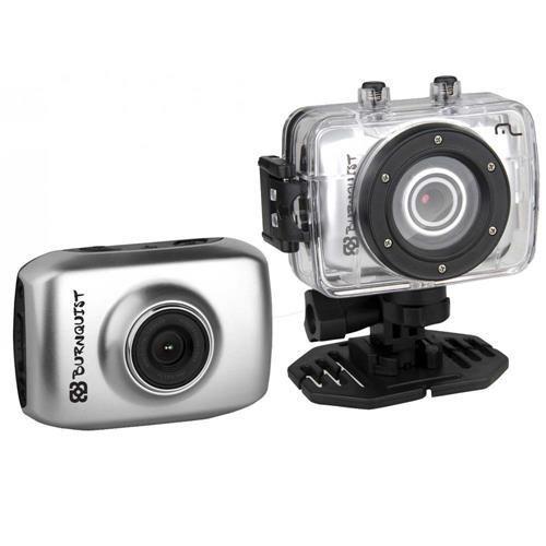 """Câmera Sportcam HD Burnquist Multilaser DC180 Cinza – 14MP, LCD  1.7"""", Zoom digital 4x, Disparador eletrônico, Entrada USB e Vídeo em HD"""