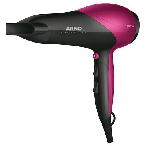 Secador de Cabelos Arno Power Dry 2100W – Rosa
