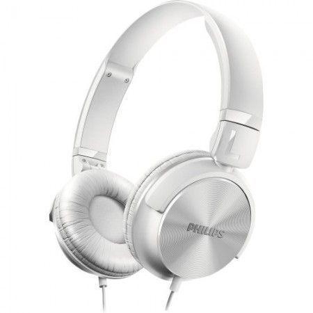 Fone de Ouvido Estilo DJ com Graves Nítidos SHL3060WT/00 Branco PHILIPS