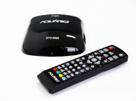 Conversor e gravador digital de TV Aquário Slim DTV-5000 - Full HD - USB - HDMI