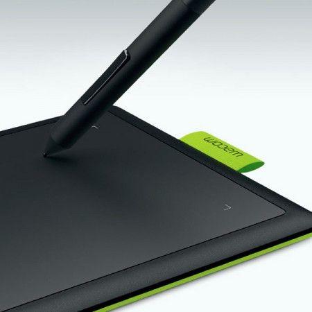 Mesa Digitalizadora One By Wacom Black Green Pequena - Wacom CTL471L