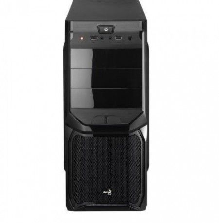 Gabinete Gamer V3X BLACK EDITION EN57417 Preto AEROCOOL