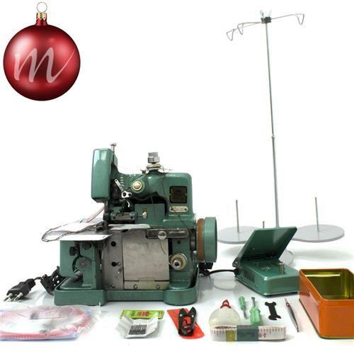 Máquina de Costura Overlock (Overloque) Semi Industrial - 110V