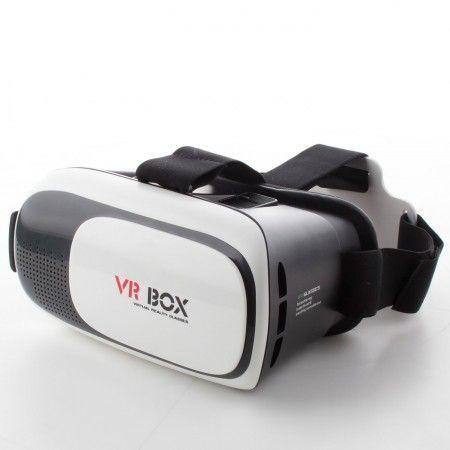 Óculos de Realidade Virtual com Controle VR Box 3D Android IOS