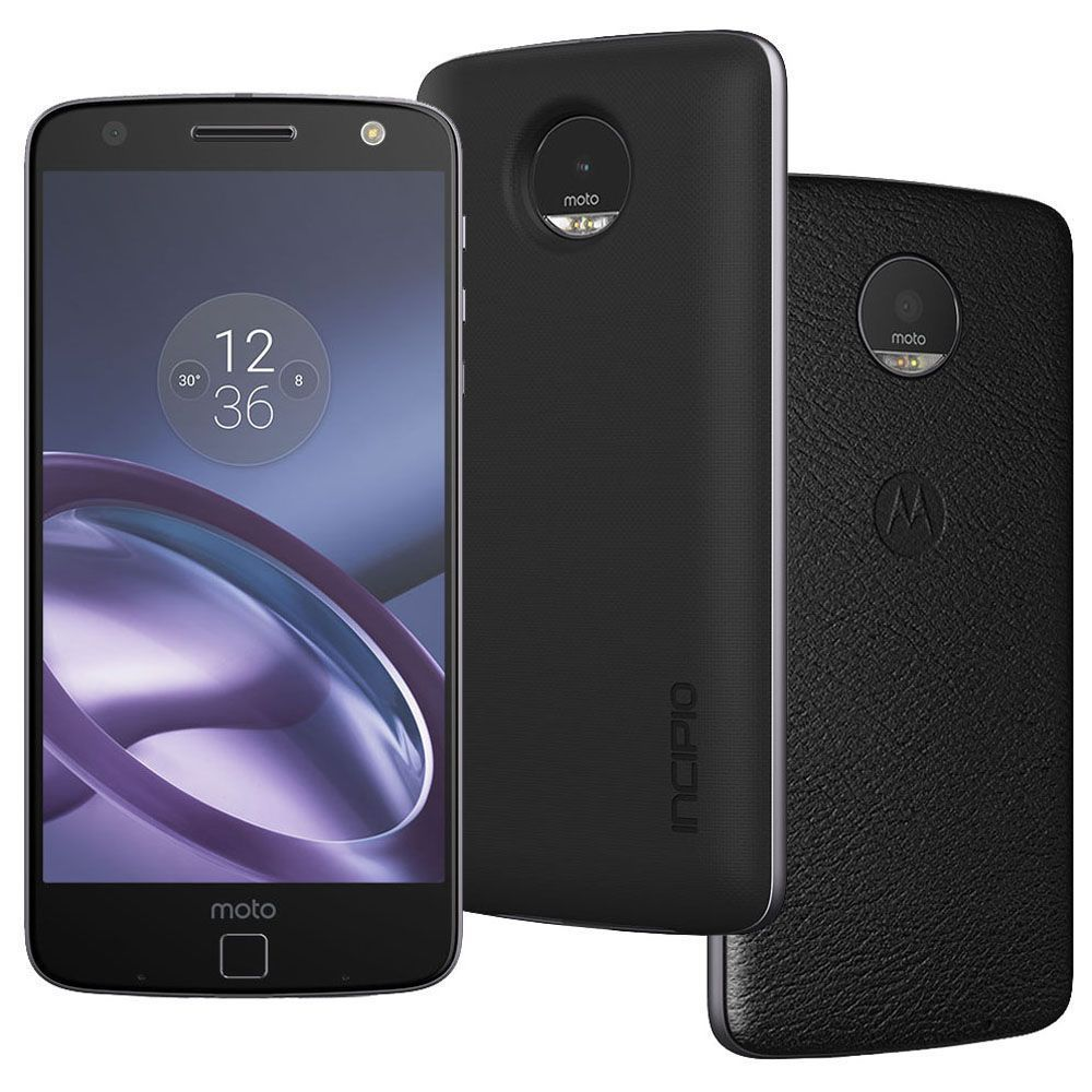 Smartphone Motorola Moto Z Power Edition Grafite com 64GB, Tela de 5.5'', Dual Chip, Câmera 13MP, 4G, Android 6.0, Processador Quad-Core e 4GB de RAM