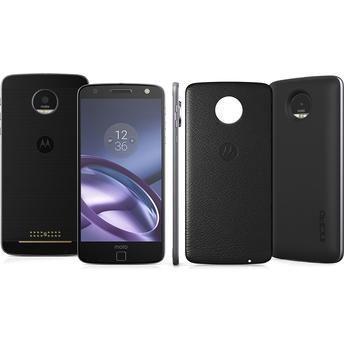 Smartphone Moto Z Power Edition XT1650-03 Preto Dual Chip Android 6.0.1 4G Wi-Fi Câmera 13MP + Capa Couro Preto