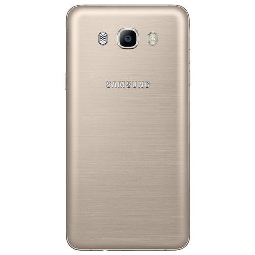 """Smartphone Samsung Galaxy J5 Duos Metal Dourado com 16GB, Dual chip, Tela 5.2"""", 4G, Câmera 13MP, Android 6.0 e Processador Quad Core de 1.2 Ghz"""