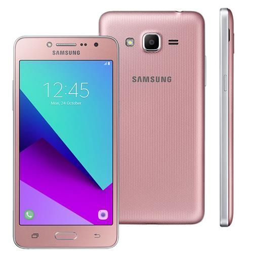 "Smartphone Samsung Galaxy J2 Prime TV Rosa com 8GB, Dual chip, Tela 5"", TV Digital, 4G, Câmera 8MP, Android 6.0 e Processador Quad Core de 1.4 Ghz"