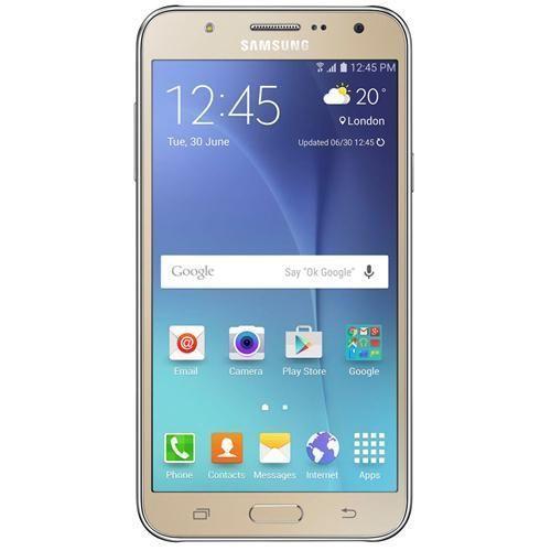 """Smartphone Samsung Galaxy J7 Duos Dourado com Dual chip, Tela 5.5"""", 4G, Câmera 13MP, Android 5.1 e Processador Octa Core de 1.5 Ghz"""