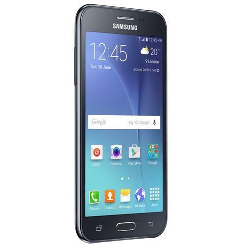 """Smartphone Samsung Galaxy J2 TV Duos Preto com Dual chip, Tela 4.7"""", TV Digital, 4G, Câmera 5MP, Android 5.1 e Processador Quad Core de 1.1 Ghz"""