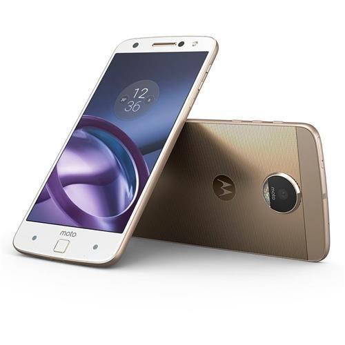 Smartphone Motorola Moto Z Power Edition Dourado com 64GB, Tela de 5.5'', Dual Chip, Câmera 13MP, 4G, Android 6.0, Processador Quad-core e 4GB de RAM