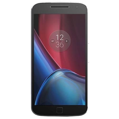 Smartphone Motorola Moto G4 Plus XT1640 Preto com 32GB, Tela de 5.5'', Dual Chip, Android 6.0, 4G, Câmera 16MP, Processador Octa-Core e 2GB de RAM