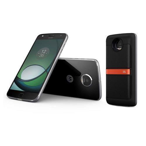 Smartphone Motorola Moto Z Play Sound Edition Grafite com 32GB, Tela de 5.5'', Dual Chip, Câmera 16MP, 4G, Android 6.0, Processador Octa-Core