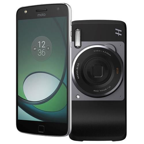 Smartphone Motorola Moto Z Play Hasselblad True Zoom Edition Grafite com 32GB,Tela 5.5'', Dual Chip, Câm. 16MP, 4G, Android 6.0, Processador Octa-Core