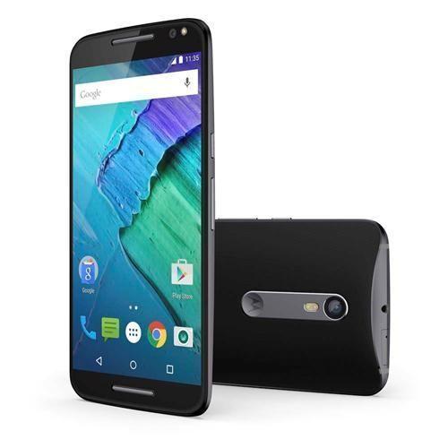 Smartphone Moto X Style 32GB XT1572 Preto com Tela de 5.7'', Dual Chip, Android 5.1, 4G, Câmera 21MP e Processador Qualcomm Hexa-Core