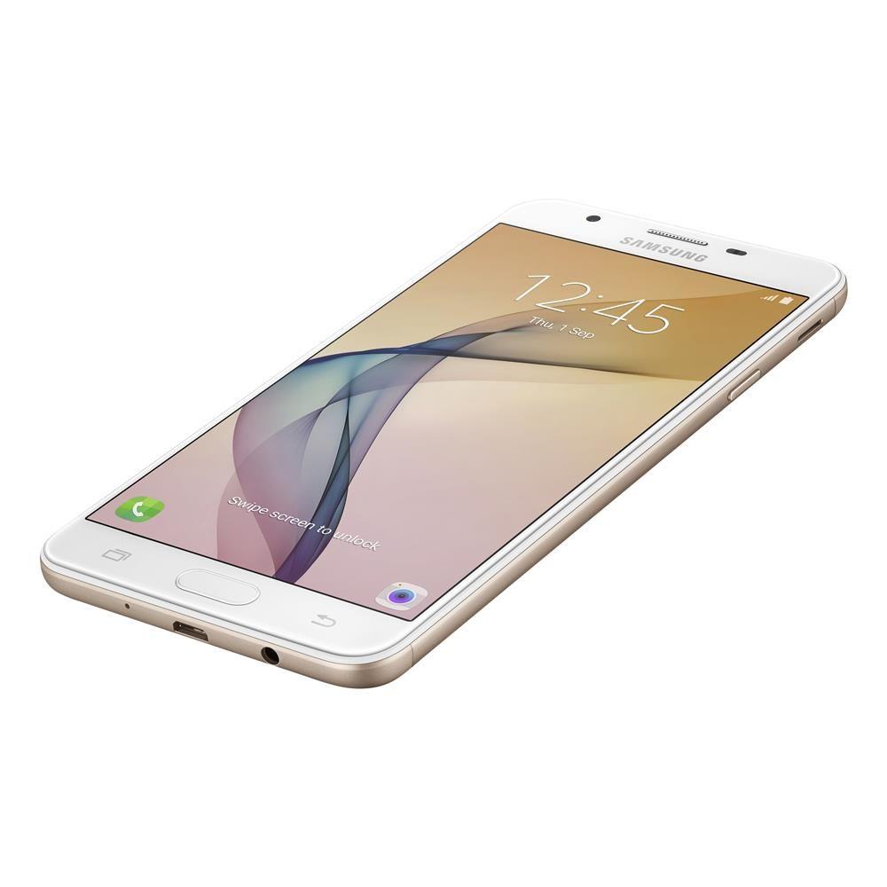 """Smartphone Samsung Galaxy J7 Prime Duos Dourado com 32GB, Tela 5.5"""", Dual Chip, 4G, Câmera 13MP, Leitor Biométrico, Android 6.0 e Processador OctaCore"""