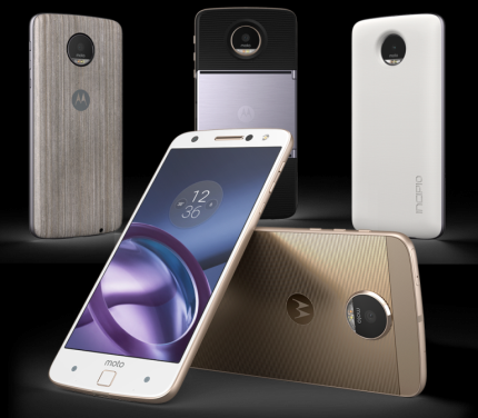 "Smartphone Motorola Moto Z Power & Projector Ed. Branco 5.5"" Android™6.0.1 Marshmallow Câm 13Mp 64Gb (Cód: 9361909)"