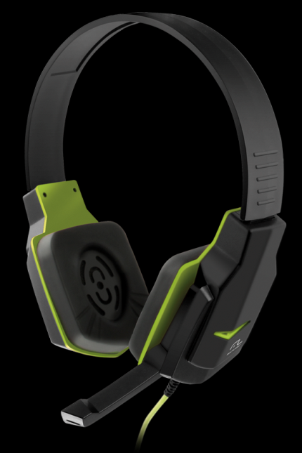 Fone de Ouvido Multilaser Ph146 Headset Gamer Preto e Verde (Cód: 9216513)