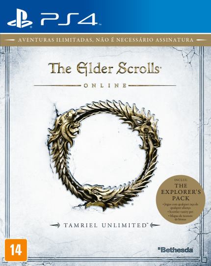 The Elder Scrolls® Online - Tamriel Unlimited™ - PS4 (Cód: 8883809)