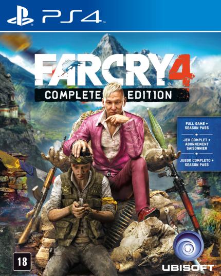 Far Cry 4 - Complete Edition - PS4 (Cód: 9186469)
