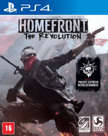 Homefront - The Revolution - PS4 (Cód: 9334485)