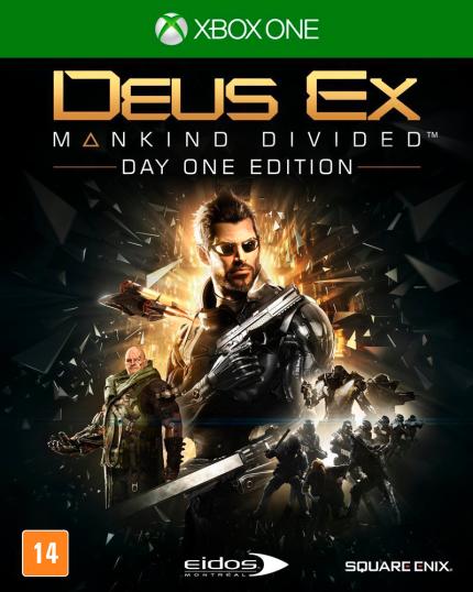 Deus Ex - Mankind Divided - Xbox One (Cód: 9360415)