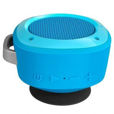 Caixas de Som 3,5W Bluetooth Divoom com Conexão USB, Resistente a Agua, Alça de Transporte - Airbeat 10 Azul