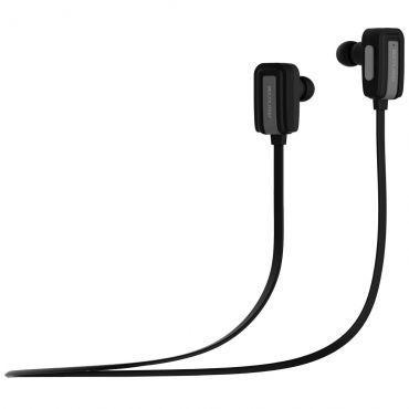 Fone De Ouvido Sport s/ Fio, c/ Bluetooth V4.0, Compatível com Android e Apple, Cabo Flat c/ Microfone, Controle de Volume, Preto, PH119 - Multilaser