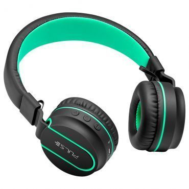 Headphone bluetooth Pulse fun series preto e verde PH215
