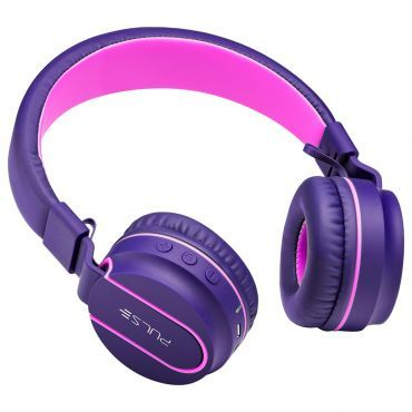 Headphone bluetooth Pulse fun series rosa e roxo PH217
