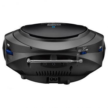 Caixa de Som Boombox Bluetooth 6 em 1 Preto Multilaser - SP223
