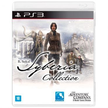 Jogo Syberia Collection para Playstation 3 (PS3) - Nordic Games