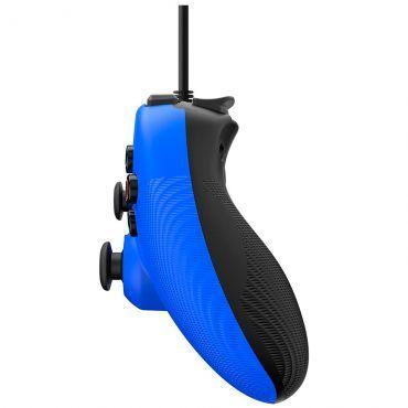 Controle Com Fio para Playstation 3 (PS3) - Azul - Power A