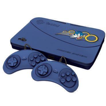 Console Master System Evolution com 02 controles com fio e 132 jogos na memória - Tectoy