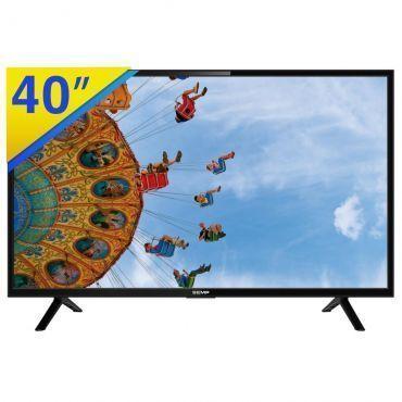 """TV LED 40"""" Semp Full HD com Conversor Digital Integrado, PVR Ready, DTVi, EPG, Link, Conexões HDMI e USB - L40D2900"""