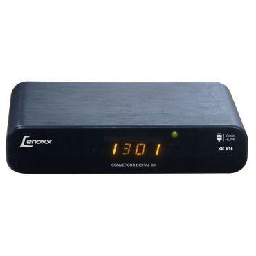 Conversor Digital Lenoxx com Função Gravação, Saída HDMI, Conexão USB e MP3 - SB615