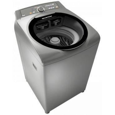 Máquina de Lavar | Lavadora de Roupa Brastemp Ative! Automática Sistema Fast 11Kg Inox - BWG11AR