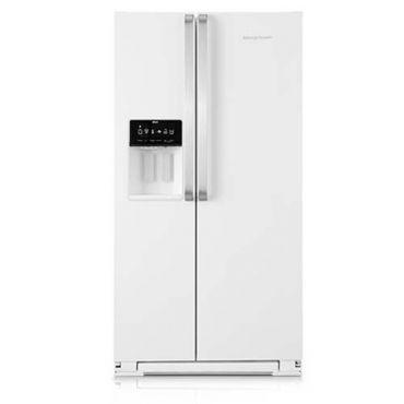 Refrigerador | Geladeira Brastemp Ative! Frost Free Side by Side 560 Litros Branco - BRS62CB