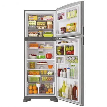 Refrigerador   Geladeira Consul Bem Estar Frost Free 2 Portas 437 Litros Evox - CRM55AK